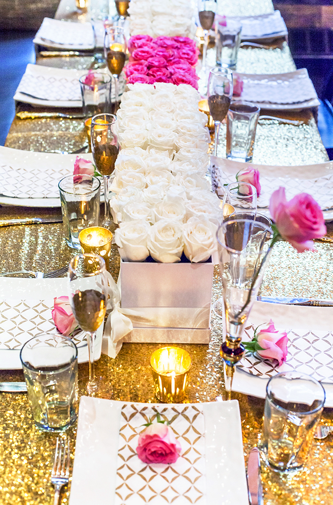 TABLESCAPE, GLAMOROUS GIRLS BRUNCH, BRUNCH, TABLE SETTING, FLOWER LUXE, SPICY CANDY DC,