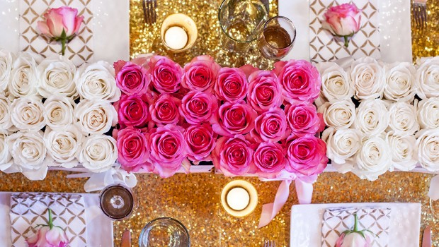 CREATE GLAMOROUS GIRLS BRUNCH TABLE,TABLESCAPE, GIRL BRUNCH, GLAM TABLE, WEST ELM, LUXE FLOWERS, FLOWER LUXE, A CREATIVE DC , CREATE CHICVILLE SPICY CANDY DC, BRUNCH TABLE DECOR
