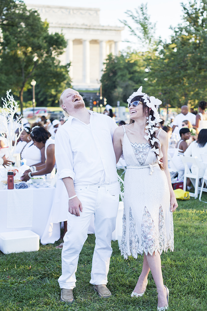 DINE EN BLANC, DINE EN BLANC DC, ALFRESCO DINING, WHAT TO DO IN DC IN THE SUMMER, WHITE,