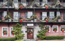 old edwards inn, travel, christmas travel, mountain getaway, highlands north carolina