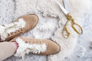 DIY, SHEARLING BOOTS, DIY FASHION, RAG AND BONE DIY, WINTER BOOTS, FASHION